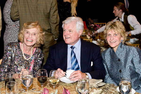 Eunice Kennedy Shriver, Ted Kennedy, Jean Kennedy Smith